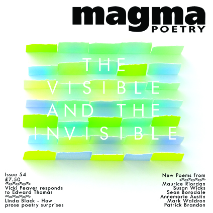 Magma 54 — The Visible and the Invisible