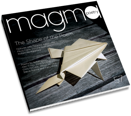 Magma 57 — The Shape of the Poem