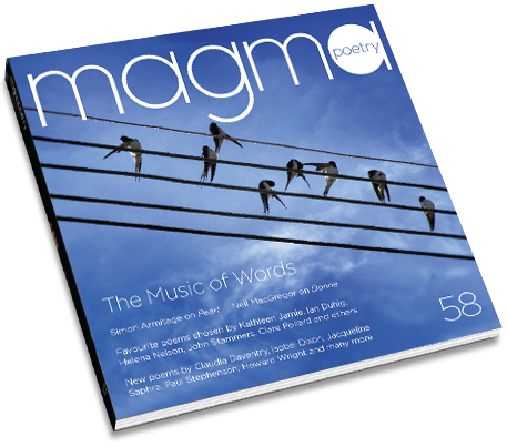 Magma 58 — The Music of Words