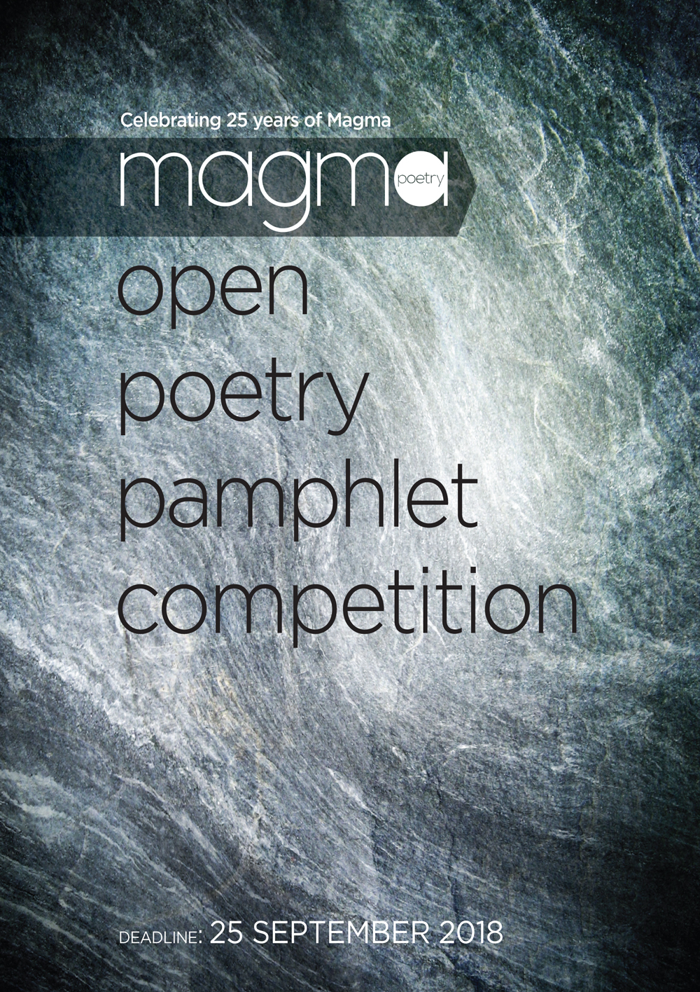 Magma Pamphlet Competition – Magma Poetry