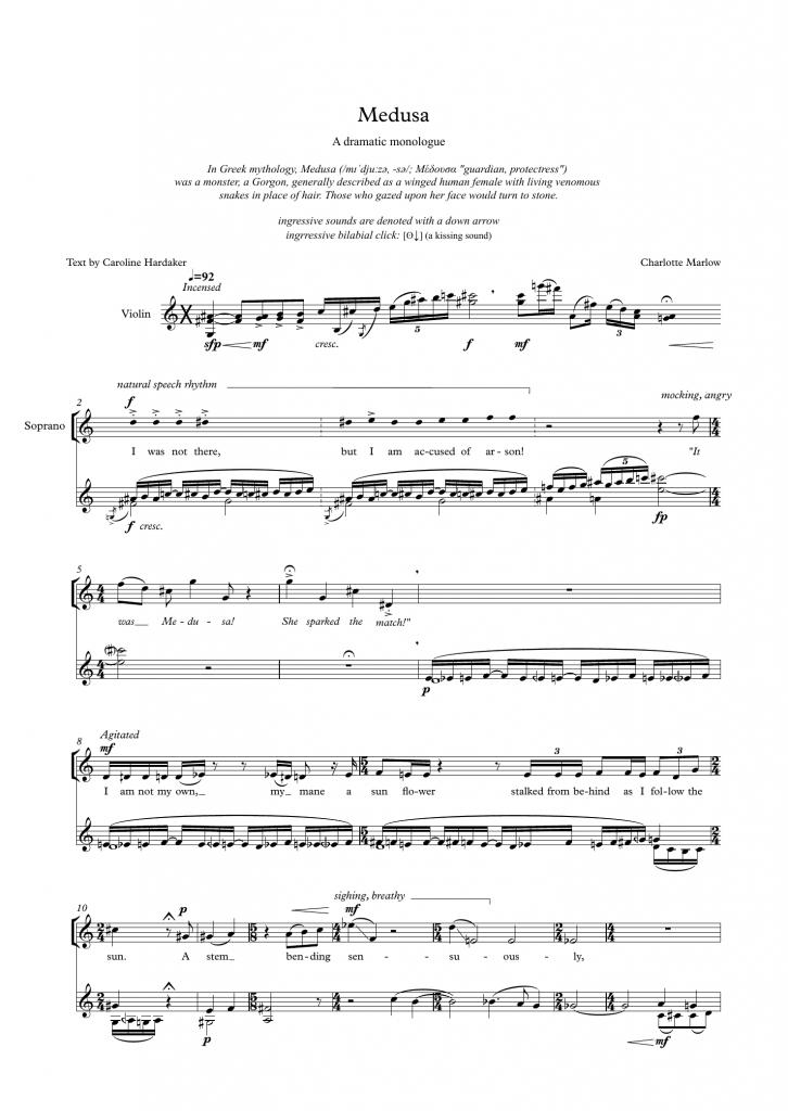 Medusa page 1